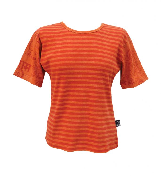 ***SALE*** - Mantra Sleeve T-Shirt - orange