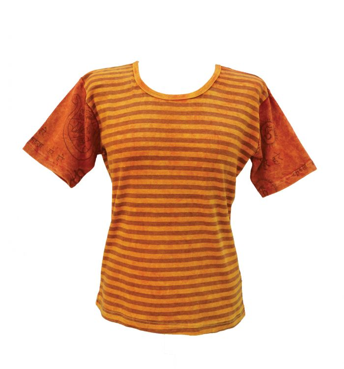 ***SALE*** - Mantra Sleeve - T Shirt - yellow/orange