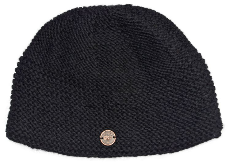 Airman's beanie  - pure new wool - black