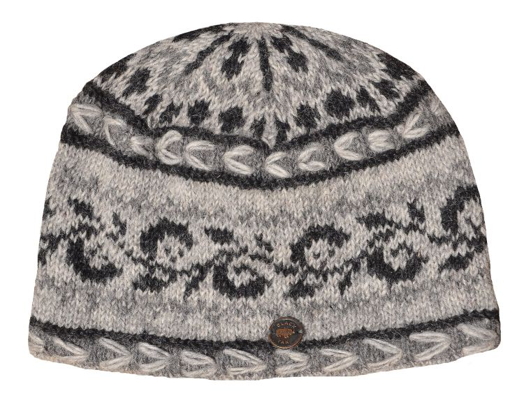 Alpine beanie - natural greys