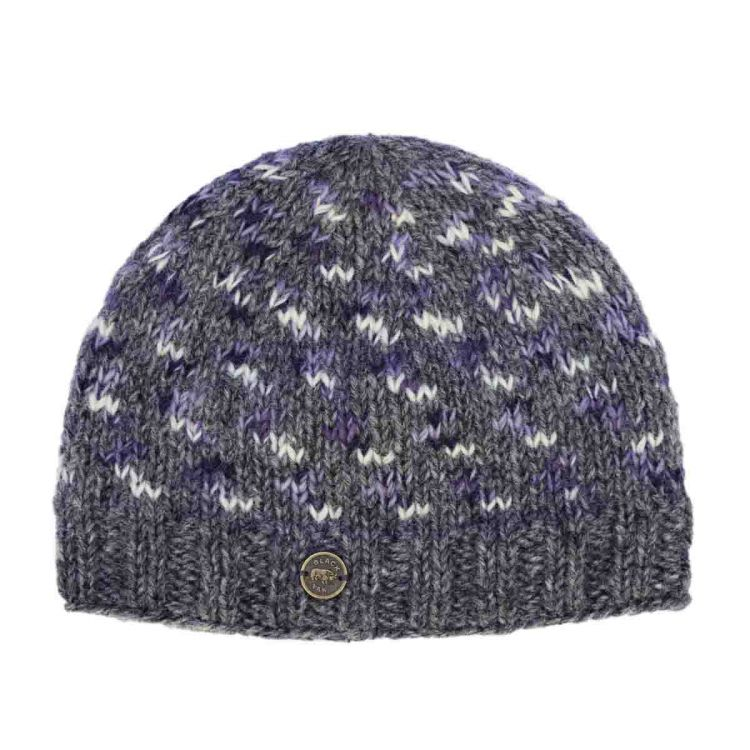 Pure wool - Wings Beanie - Blues