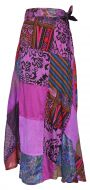 Jaipuri - Patchwork Skirt - Purple